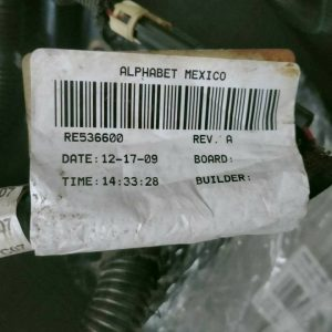 RE536600 John Deere 6068HF485 Engine Wire Harness
